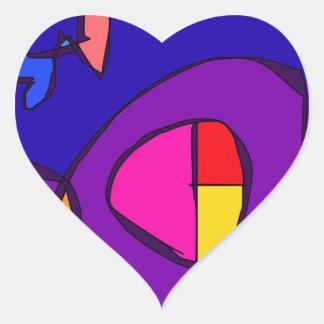 Reasons Heart Sticker