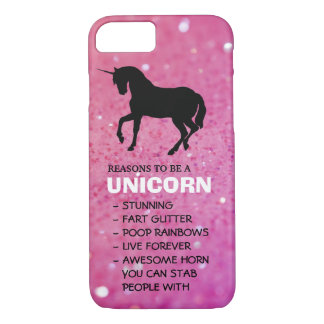 Reasons to be a unicorn case