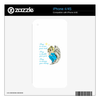 REASONS TO PRAY DECALS FOR THE iPhone 4S