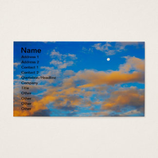 Reasons to Wake Up Early Business Card