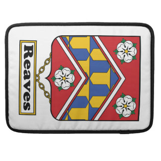 Reaves Family Crest MacBook Pro Sleeve