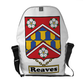 Reaves Family Crest Courier Bag