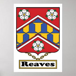 Reaves Family Crest Print