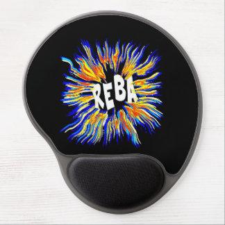 Reba Name Art Gel Mousepads
