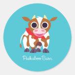 Reba the Cow Classic Round Sticker
