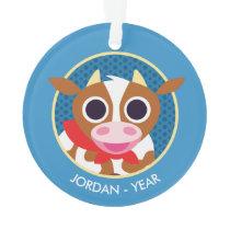 Reba the Cow Ornament