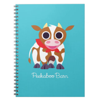 Reba the Cow Spiral Notebook