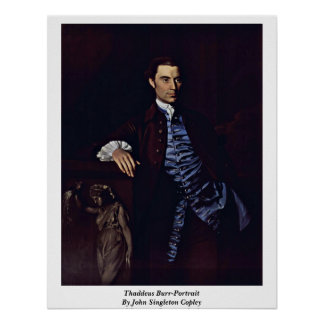 Rebaba-Retrato de Thaddeus de John Singleton Cople Póster
