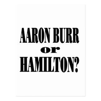 ¿Rebabas o Hamilton? Postales