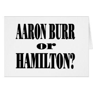 ¿Rebabas o Hamilton? Tarjeta