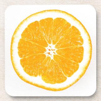 Rebanada anaranjada posavaso