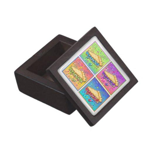 Rebanada de caja de regalo superior de la empanada cajas de regalo de calidad
