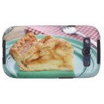 Rebanada de empanada de manzana cocida fresca en l galaxy s3 fundas