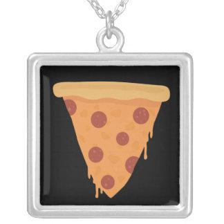 Rebanada de la pizza colgantes