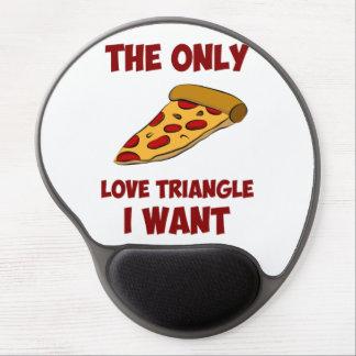 Rebanada de la pizza - el único triángulo de amor  alfombrillas con gel