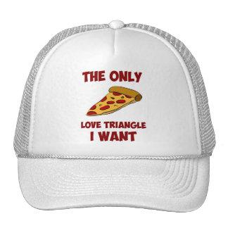 Rebanada de la pizza - el único triángulo de amor  gorro de camionero