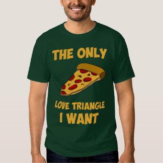Rebanada de la pizza - el único triángulo de amor polera