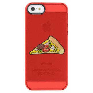 Rebanada de la pizza funda clearly™ deflector para iPhone 5 de uncommon