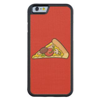 Rebanada de la pizza funda de iPhone 6 bumper arce