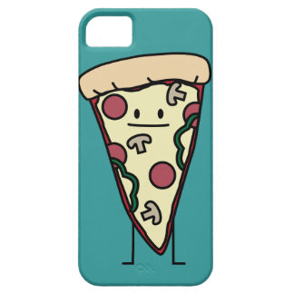 Rebanada de la pizza funda para iPhone 5 barely there