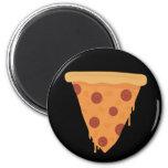 Rebanada de la pizza imanes
