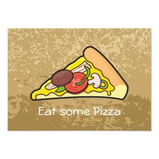 Rebanada de la pizza