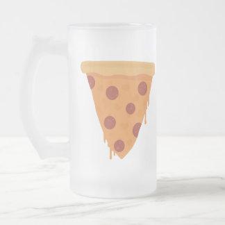Rebanada de la pizza tazas