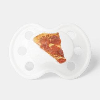 Rebanada de la pizza - una rebanada de pizza chupetes de bebe