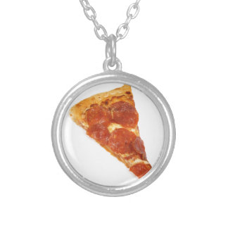 Rebanada de la pizza - una rebanada de pizza pendiente personalizado