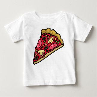 Rebanada de la seta y de la pizza de salchichones t shirts