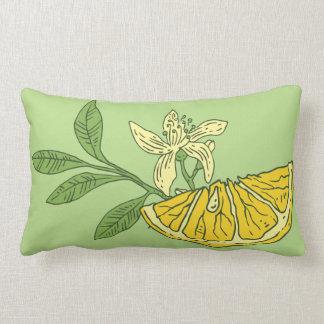 Rebanada de limón almohada