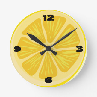 Rebanada de limón relojes