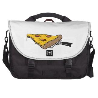Rebanada de pizza bolsas de ordenador