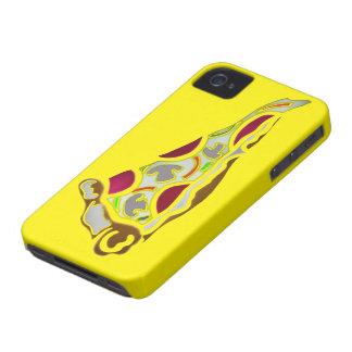 Rebanada de pizza Case-Mate iPhone 4 cobertura