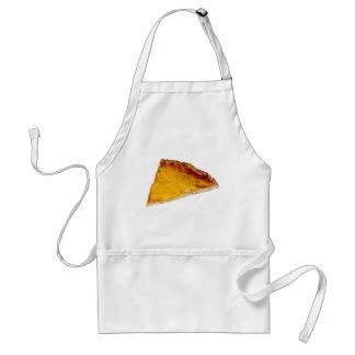 Rebanada de pizza delantal