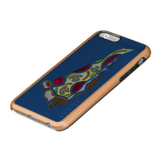 Rebanada de pizza funda para iPhone 6 plus incipio feather shine