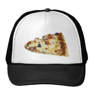 Rebanada de pizza gorras de camionero