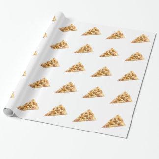 Rebanada de pizza papel de regalo