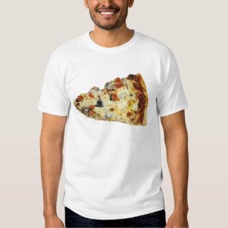 Rebanada de pizza remera