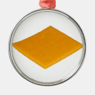 Rebanada de queso ornamentos para reyes magos