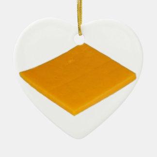 Rebanada de queso ornamentos de reyes magos