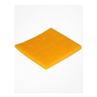 Rebanada de queso membrete