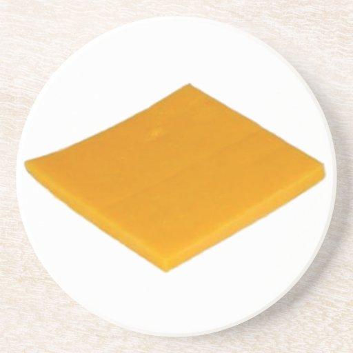 Rebanada de queso posavasos manualidades