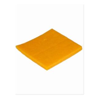 Rebanada de queso tarjetas postales