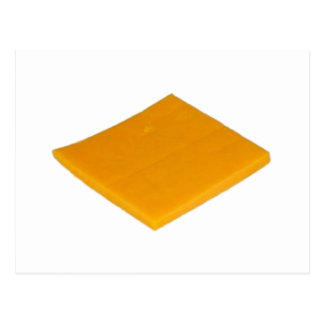 Rebanada de queso postal