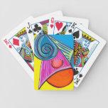 Rebanada del hielo barajas de cartas