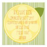 Rebanada del limón comunicado