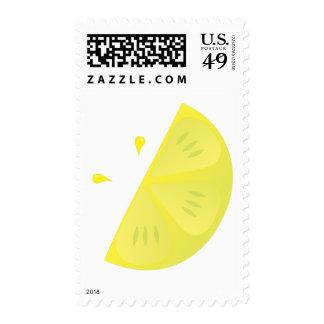 Rebanada del limón sellos