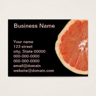 Rebanada del pomelo tarjeta de negocios