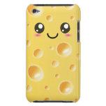 Rebanada feliz linda del queso de Kawaii iPod Touch Case-Mate Carcasa